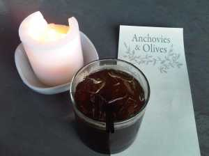 anchovies, olives, and fernet: a culinary trifecta